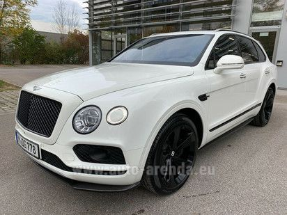 Купить Bentley Bentayga W12 4WD в Германии