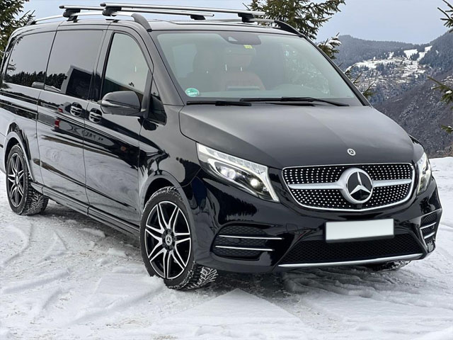Booking and rental minivan, minibus, VAN 7-seats in Stuttgart