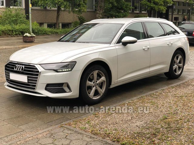 Rental Audi A6 40 TDI Quattro Estate in Germany