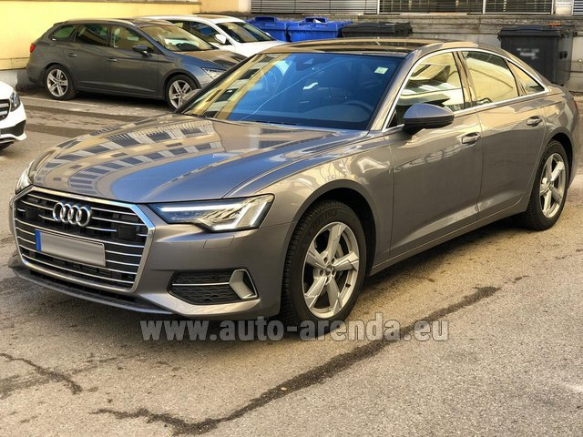 Rental Audi A6 45 TDI Quattro in Berlin