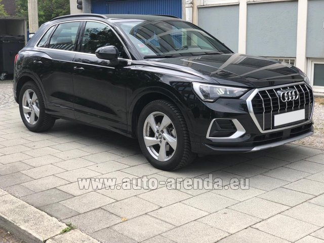 Rental Audi Q3 35 TFSI Quattro in Germany