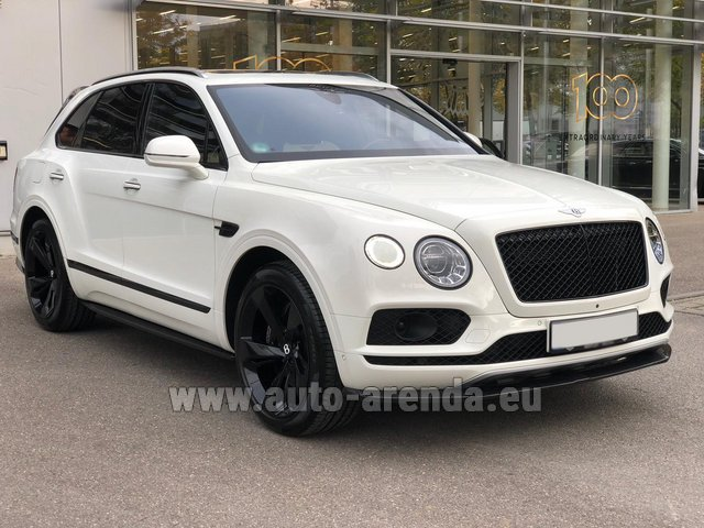 Rental Bentley Bentayga 6.0 litre twin turbo TSI W12 in Hanover