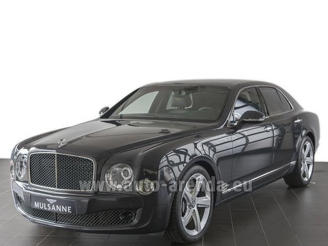Rental Bentley Mulsanne Speed V12 in Frankfurt