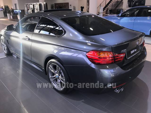 Rental BMW 420d xDrive Coupe M Sportpaket in Dresden