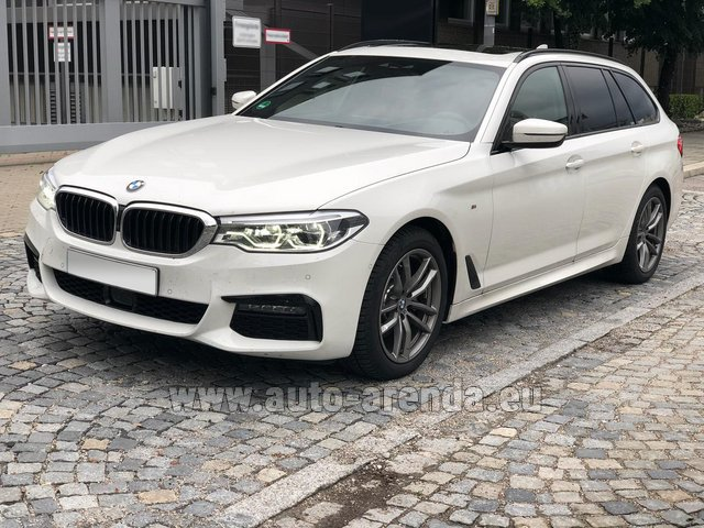 Hire and delivery to Dusseldorf airport the car BMW 520d xDrive Touring M equipment