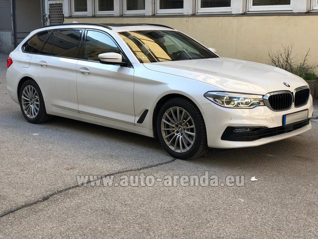 Rental BMW 5 Touring Equipment M Sportpaket in Nuremberg