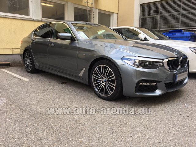 Rental BMW 540i M in Frankfurt