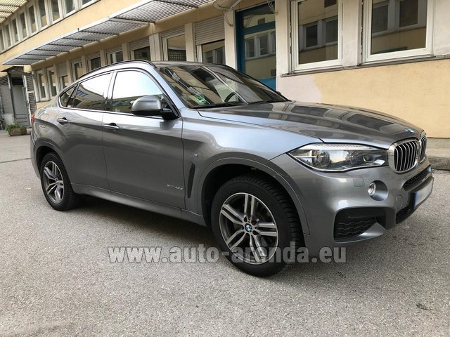 Прокат БМВ X6 4.0d xDrive High Executive M в Германии