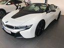 Rental in Munich the car BMW i8 Roadster Cabrio First Edition 1 of 200 eDrive