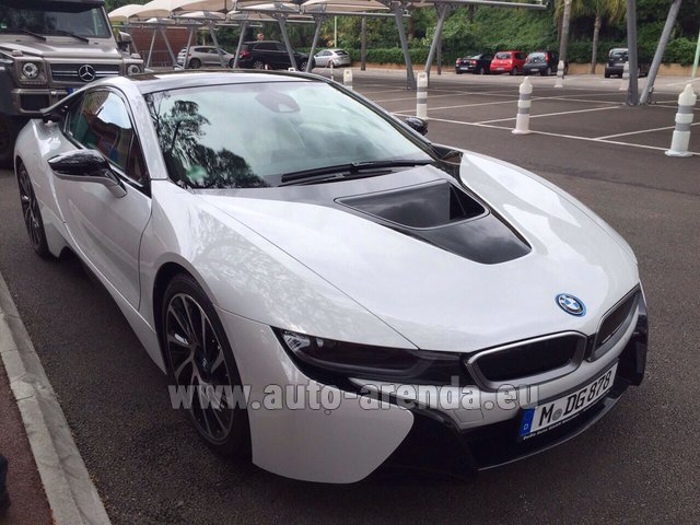 Rental BMW i8 Coupe Pure Impulse in Nuremberg