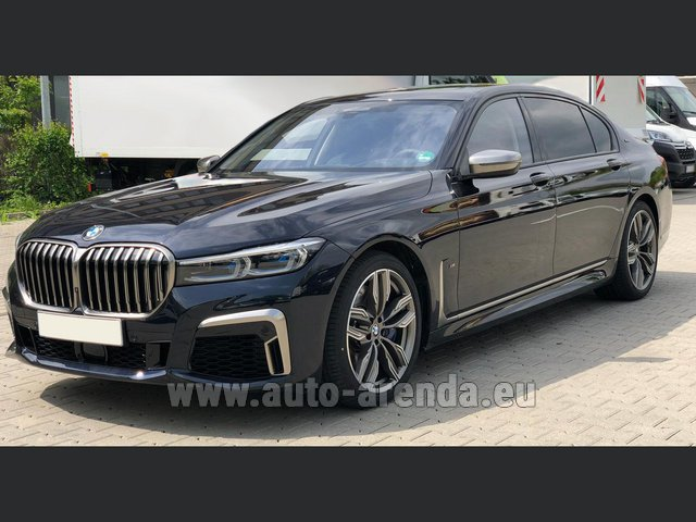 Transfer from Munich Airport General Aviation Terminal GAT to Serfaus by BMW M760Li xDrive V12 car