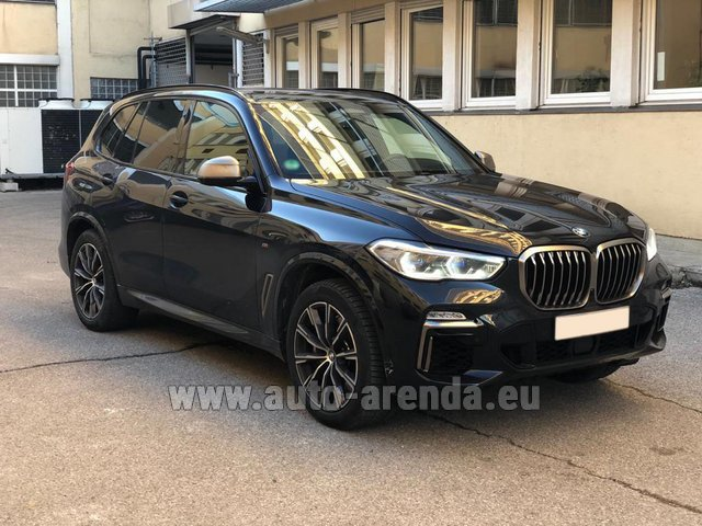 Rental BMW X5 M50d XDRIVE in Hanover