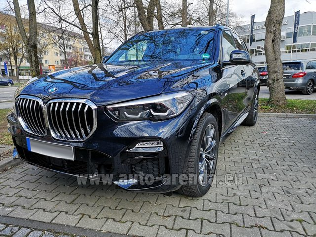 Rental BMW X5 xDrive 30d in Hanover
