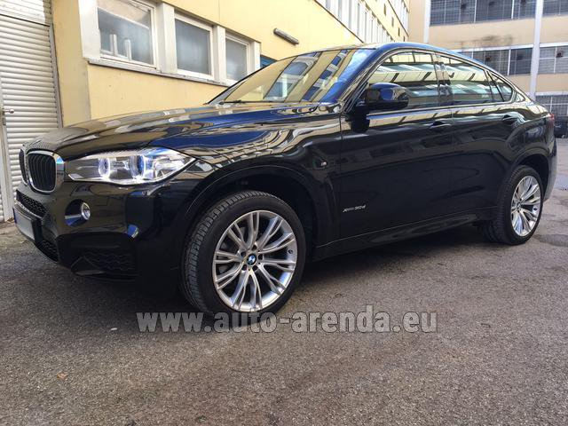 Прокат БМВ X6 3.0d xDrive High Executive M спорт пакет в Германии