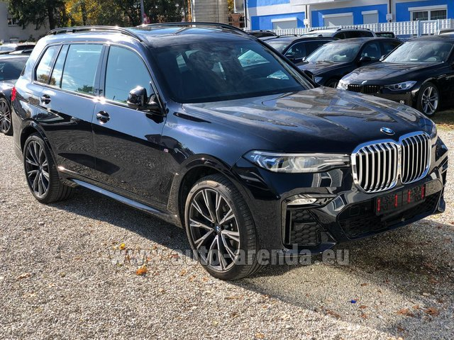 Rental BMW X7 xDrive40i in Hanover
