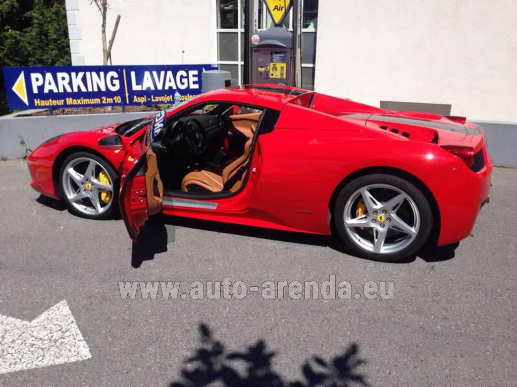 new motor way listings italia red the lease spider of ferrari luxury