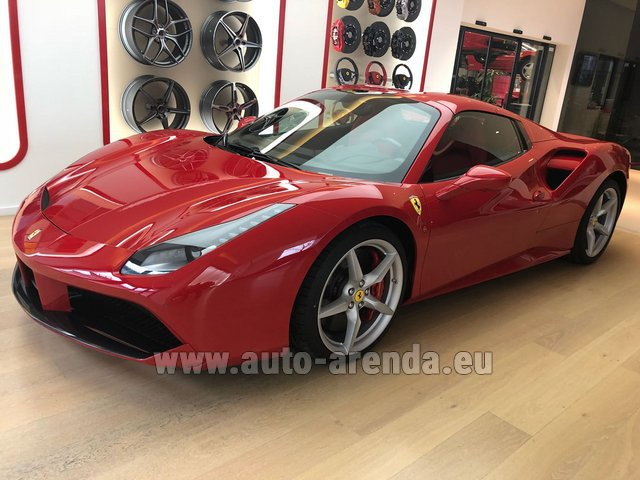 Rent The Ferrari 488 Spider Car In Dortmund