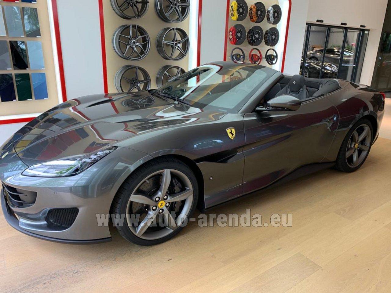 Rent The Ferrari Portofino Car In Freiburg