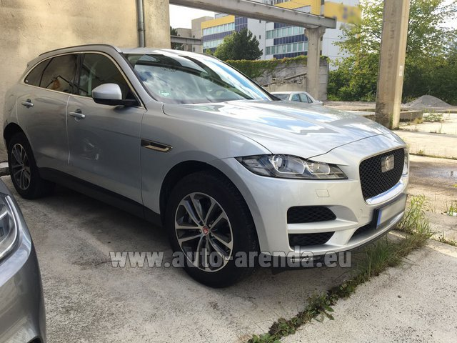 Rental Jaguar F-Pace in Frankfurt