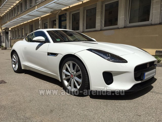 Rental Jaguar F-Type 3.0 Coupe in Karlsruhe