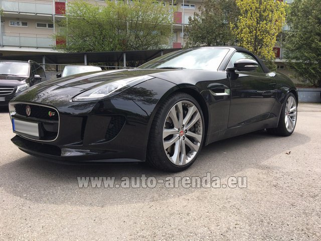 Hire and delivery to Memmingen airport the car: Jaguar F Type 3.0L