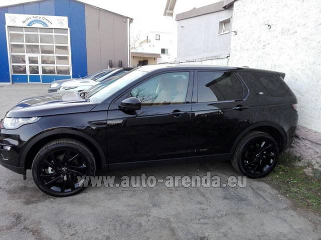 Rental Land Rover Discovery Sport HSE Luxury (5-7 Seats) in Dresden