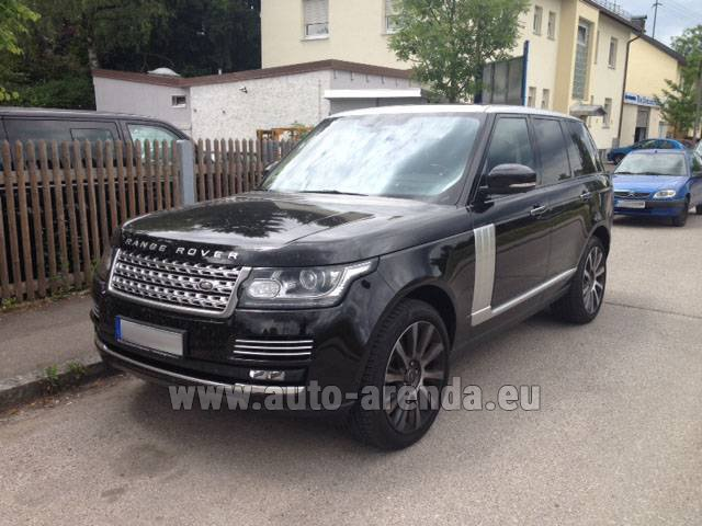 Rental Land Rover Range Rover SDV8 Autobiography in Frankfurt am Main