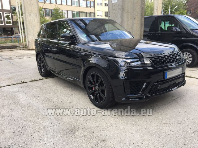 Rental Land Rover Range Rover SPORT in Germany