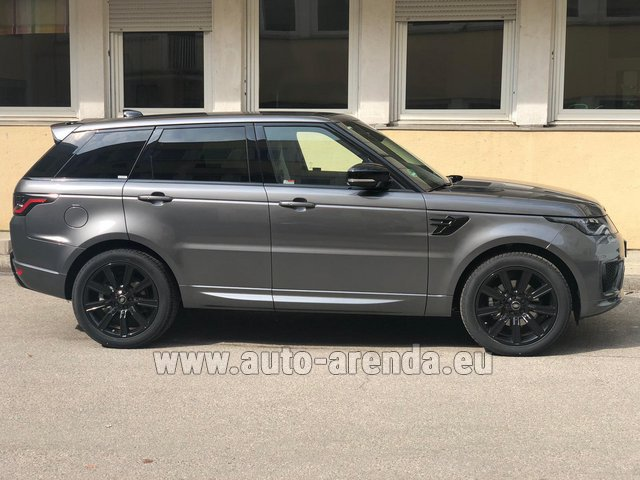 Rental Land Rover Range Rover Sport SDV6 Panorama 22 in Germany
