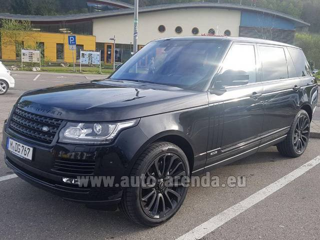 Rental Land Rover Range Super Charge 5.0L Long in Germany