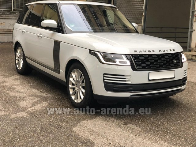 Rental Land Rover Range Rover Vogue P525 in Germany