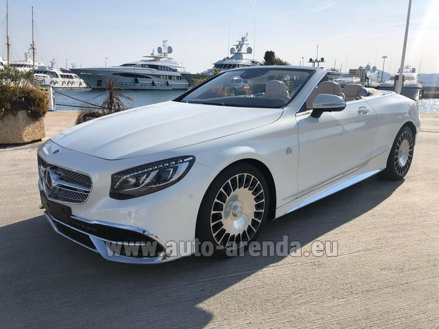 Прокат Maybach S 650 Cabriolet, 1 of 300 Limited Edition в Германии