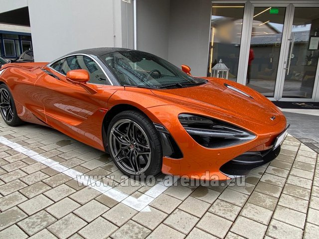 Rental McLaren 720S in Cologne