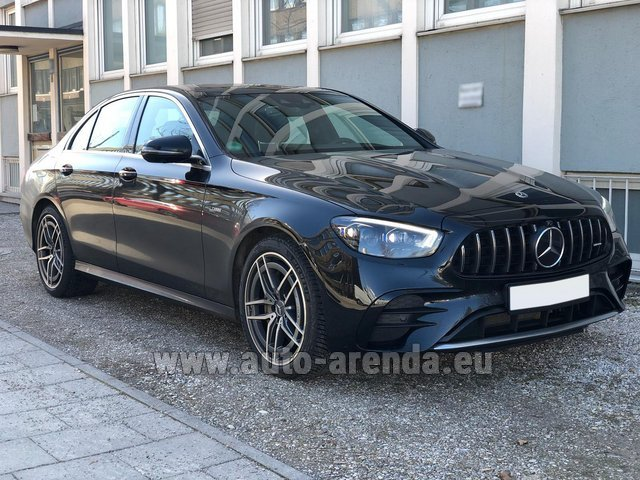Rental Mercedes-Benz AMG E 53 4MATIC+ Turbo in Dresden