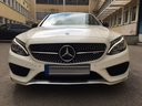 Rent-a-car Mercedes-Benz C-Class C43 AMG Biturbo 4MATIC White in Germany, photo 2