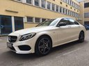 Rent-a-car Mercedes-Benz C-Class C43 AMG Biturbo 4MATIC White in Germany, photo 1