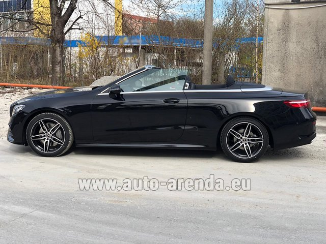 Прокат Мерседес-Бенц E 200 Cabriolet AMG equipment в Берлине
