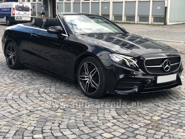 Rental Mercedes-Benz E-Class E200 Cabrio AMG equipment in Dresden