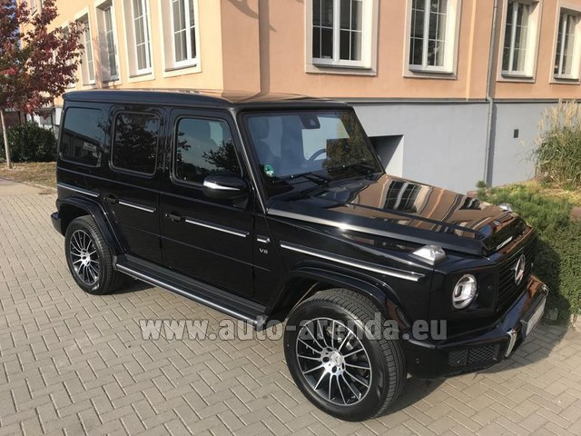 Rental Mercedes-Benz G-Class G500 2018 Exclusive Edition in Nuremberg