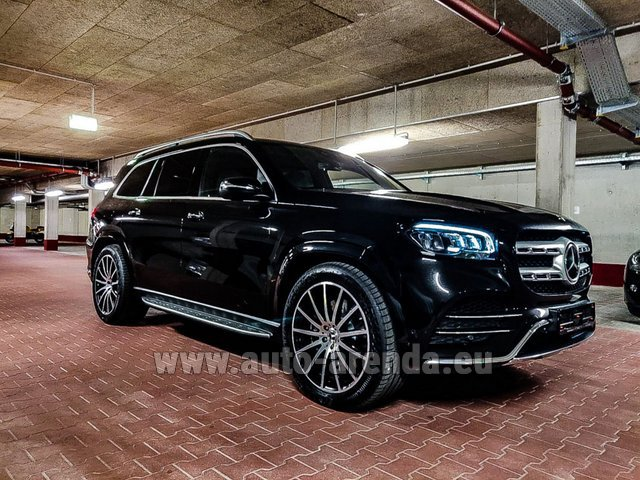 Rental Mercedes-Benz GLS 400d 4MATIC BlueTEC equipment AMG in Dresden