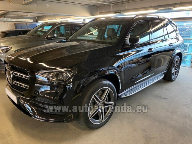 Rental Mercedes-Benz GLS 400d BlueTEC 4MATIC equipment AMG in Dresden