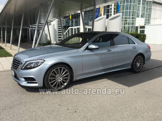 Rental Mercedes-Benz S 350 L BlueTEC 4MATIC AMG in Frankfurt