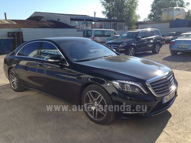 Rental Mercedes S 350 L BlueTEC AMG in Potsdam