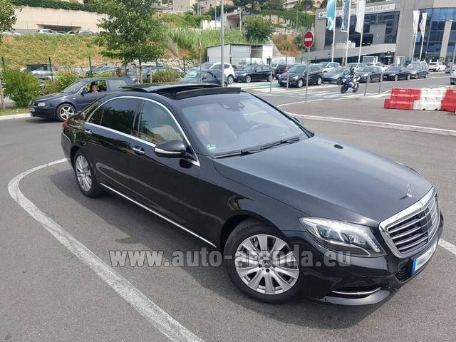 Rental Mercedes-Benz S 350 Long AMG in Frankfurt am Main