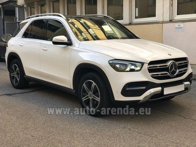 Rental Mercedes-Benz GLE 350 4Matic AMG equipment in Dresden