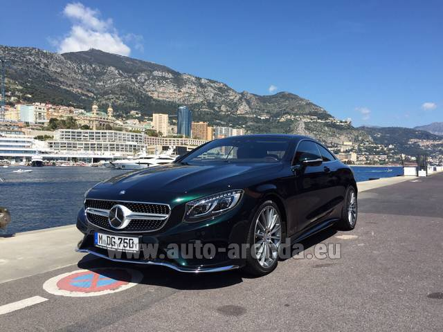 Rental Mercedes-Benz S 500 Coupe 4Matic 7G-TRONIC AMG in Frankfurt an der Oder