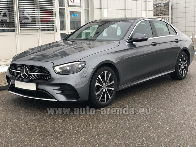 Rental Mercedes-Benz E400d 4MATIC AMG equipment in Dresden
