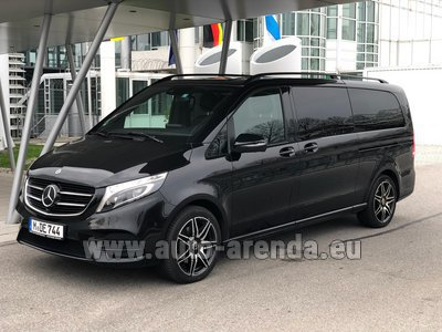 Аренда в Гамбурге автомобиля Mercedes-Benz V-Class (Viano) V 250 4Matic BlueTEC Extra long AMG equipment