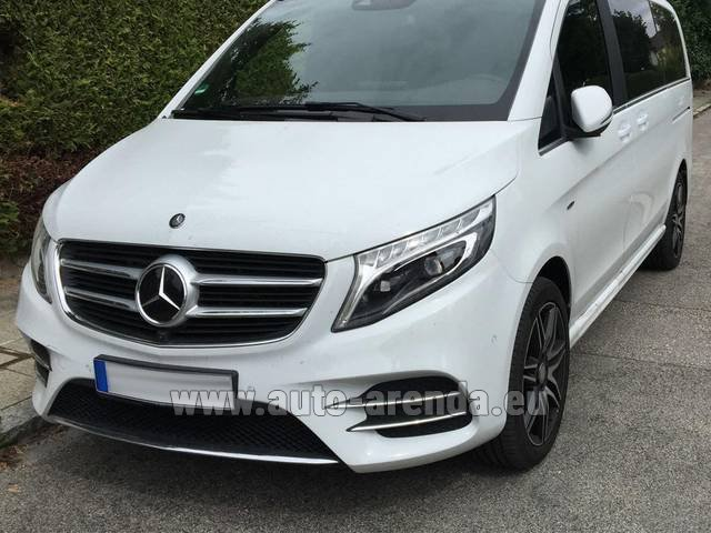 Rental Mercedes-Benz V-Class (Viano) V 250 D 4Matic AMG Equipment in Dortmund