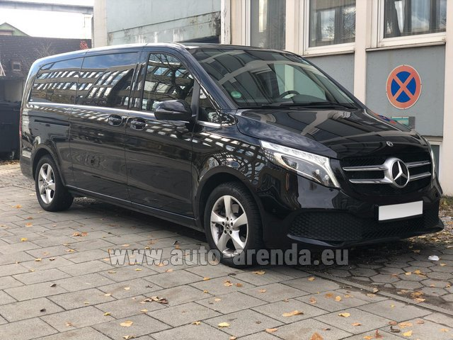 Rental Mercedes-Benz V-Class V 250 Diesel Long (8 seater), new model 2020 in Dortmund